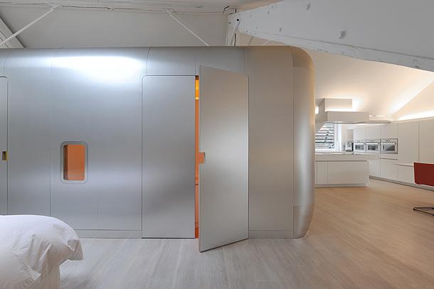 loft futurista en lieja de daniel dethier (10) - foto serge brison