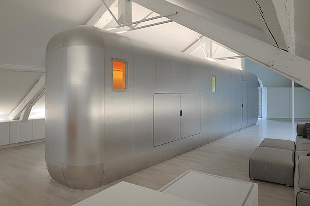 loft futurista en lieja de daniel dethier (17) - foto serge brison