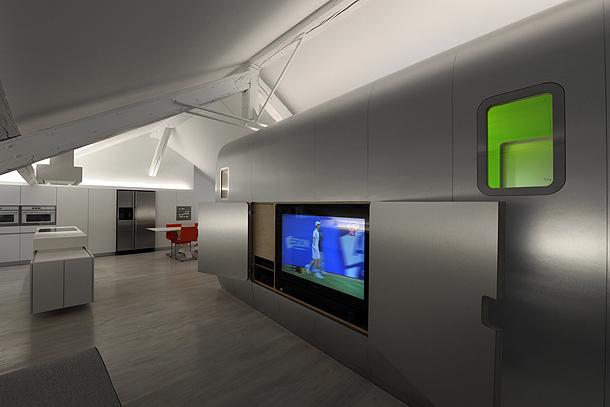 loft futurista en lieja de daniel dethier (19) - foto serge brison