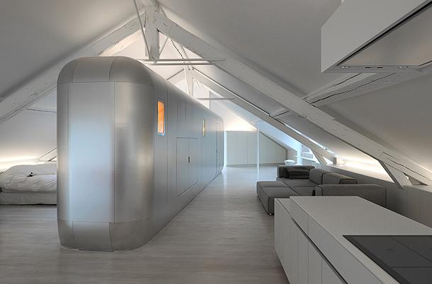 loft futurista en lieja de daniel dethier (21) - foto serge brison