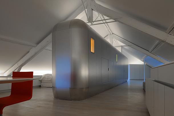 loft futurista en lieja de daniel dethier (24) - foto serge brison