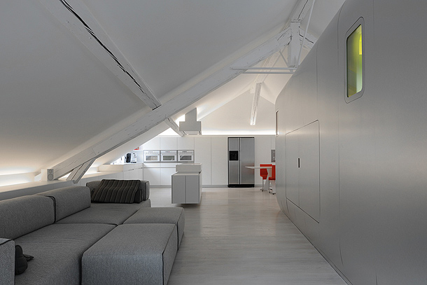 loft futurista en lieja de daniel dethier (3) - foto serge brison