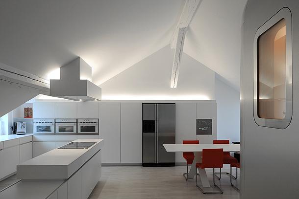 loft futurista en lieja de daniel dethier (5) - foto serge brison