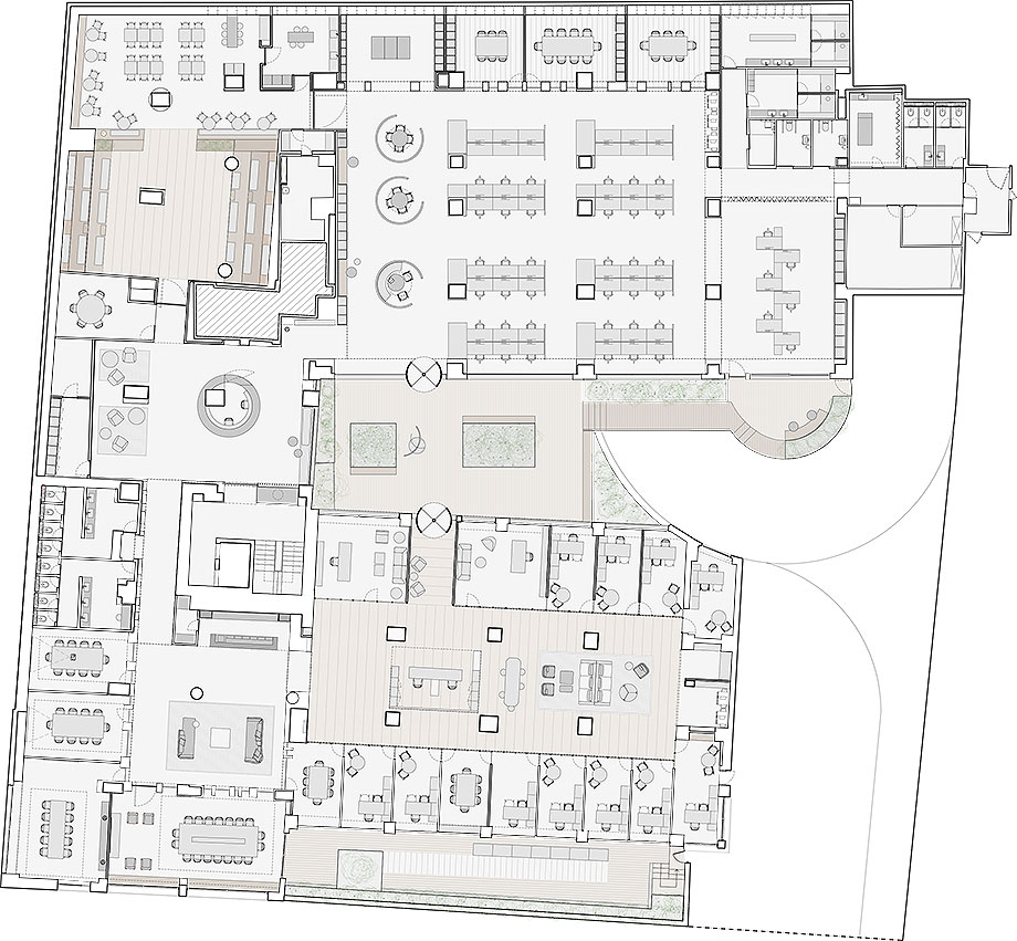 oficinas en madrid azora por francesc rife (21) - plano