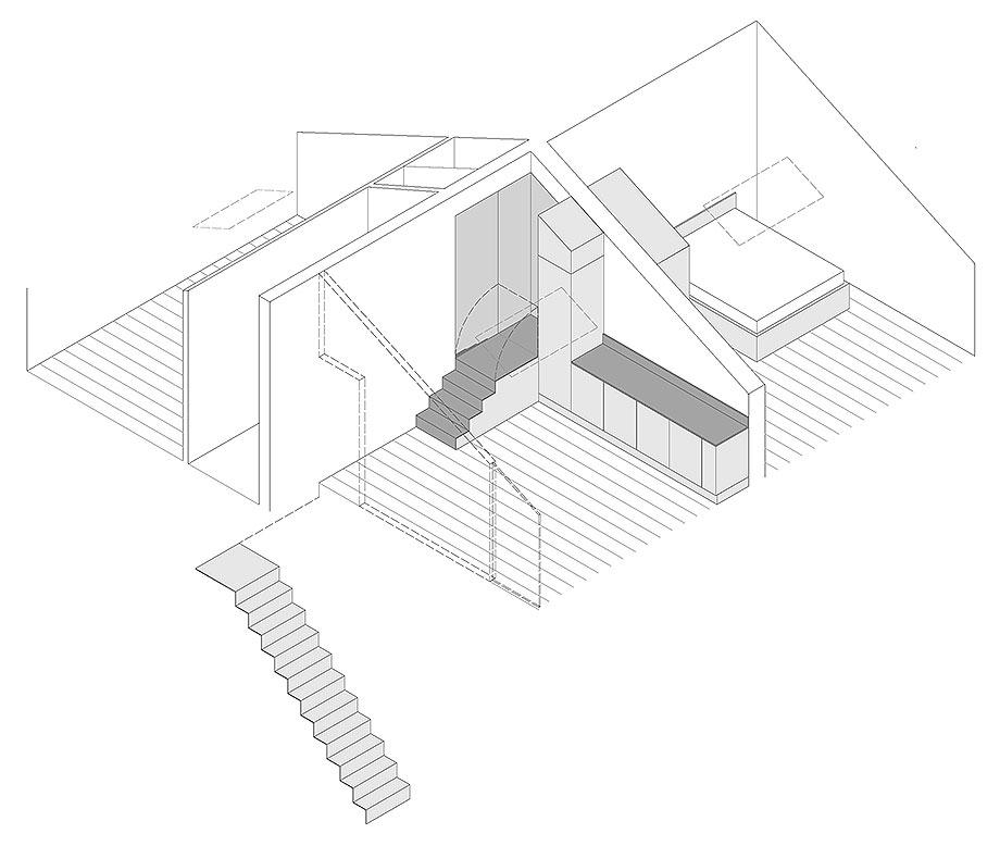 reforma de un ático en palermo por la leta architettura (15) - plano