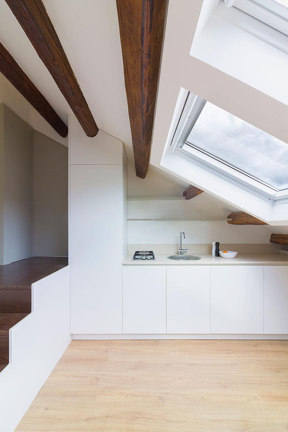 reforma de un ático en palermo por la leta architettura (4) - foto marco zanca