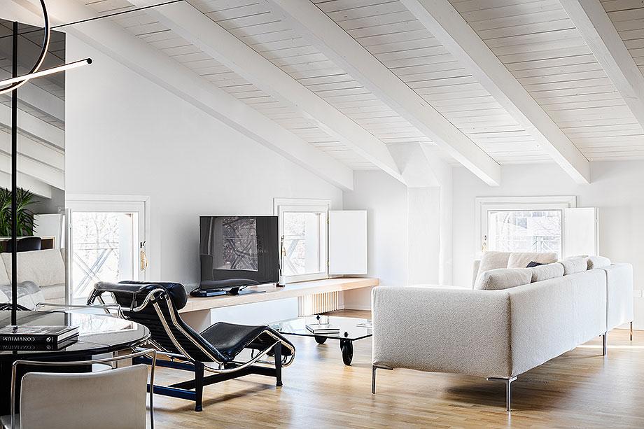 reforma de un apartamento en mantua por ghiroldi design (1) - foto davide galli atelier