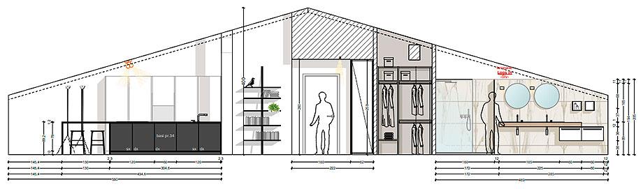 reforma de un apartamento en mantua por ghiroldi design (18) - plano