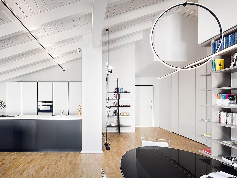reforma de un apartamento en mantua por ghiroldi design (3) - foto davide galli atelier