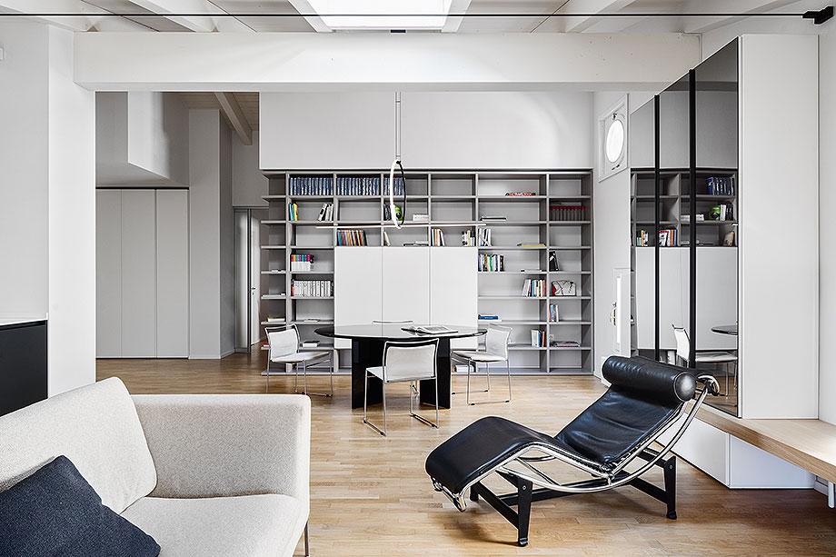 reforma de un apartamento en mantua por ghiroldi design (5) - foto davide galli atelier