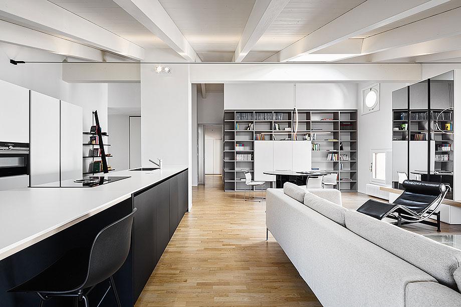 reforma de un apartamento en mantua por ghiroldi design (6) - foto davide galli atelier