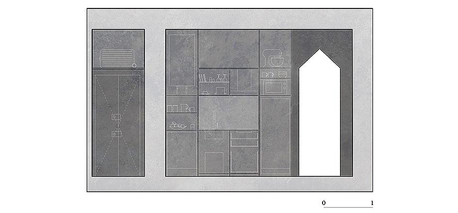 apartamento en naviglio de atelier architettura chinello morandi (18) - plano