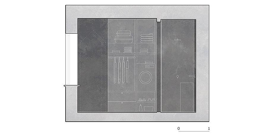 apartamento en naviglio de atelier architettura chinello morandi (20) - plano