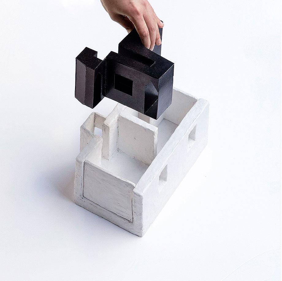 apartamento en naviglio de atelier architettura chinello morandi (21) - maqueta