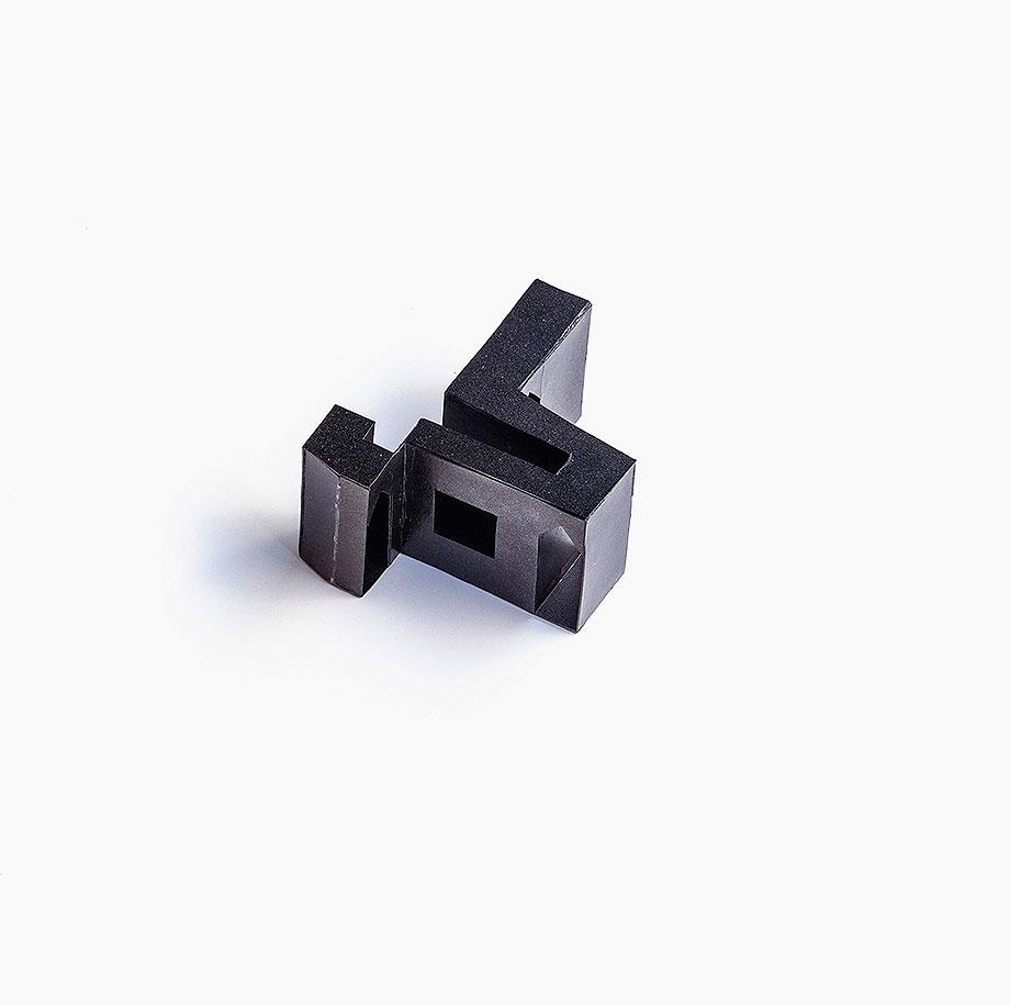 apartamento en naviglio de atelier architettura chinello morandi (23) - maqueta