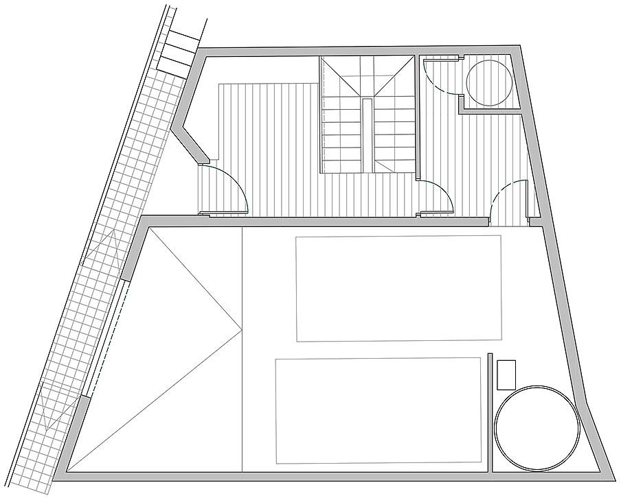 house a de xstudio arquitectos (23) - plano