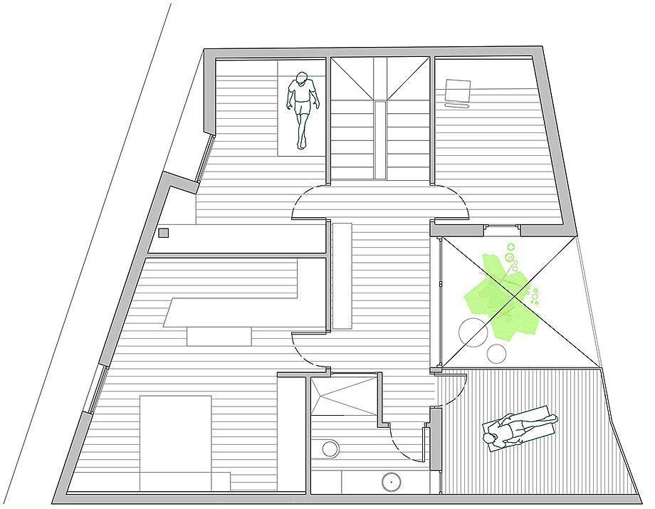 house a de xstudio arquitectos (25) - plano