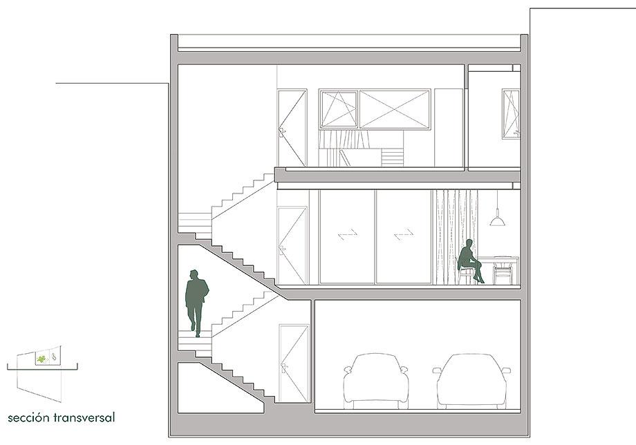 house a de xstudio arquitectos (26) - plano