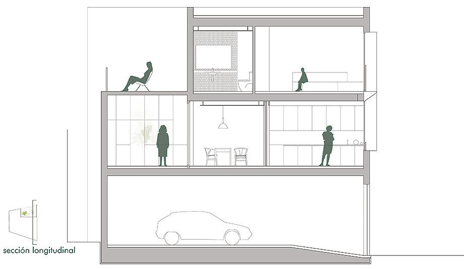 house a de xstudio arquitectos (27) - plano