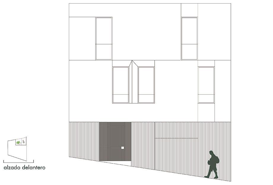 house a de xstudio arquitectos (28) - plano