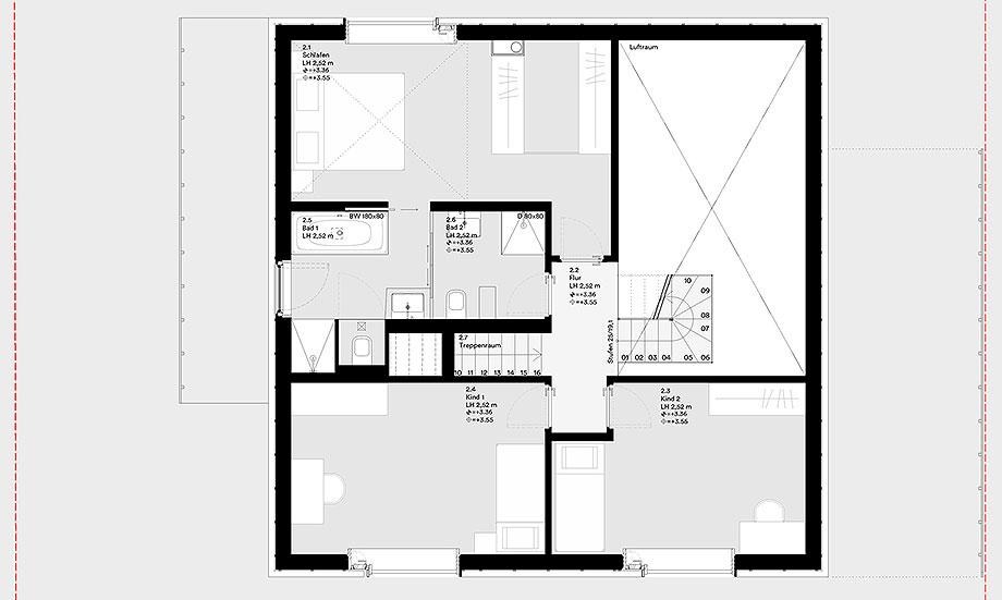 la casa de la pergola de rundzwei architekten (30) - plano
