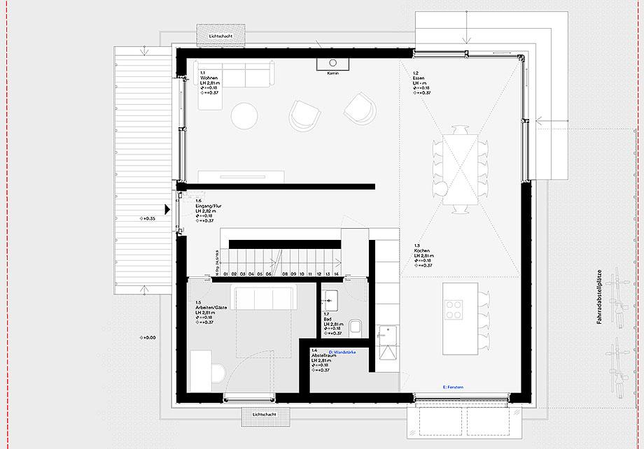 la casa de la pergola de rundzwei architekten (34) - plano