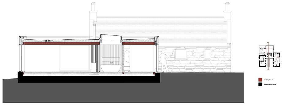 reforma y ampliacion de un cottage por bronw & brown (21) - plano