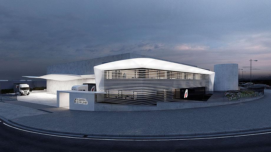 sede social gazechim composites por onside (32) - visualizaciones