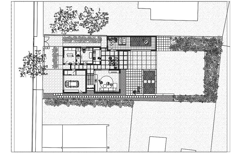 casa lhotka en praga de soa architekti y richter design (16) - planimetría