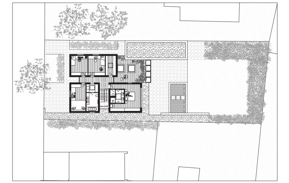 casa lhotka en praga de soa architekti y richter design (17) - planimetría