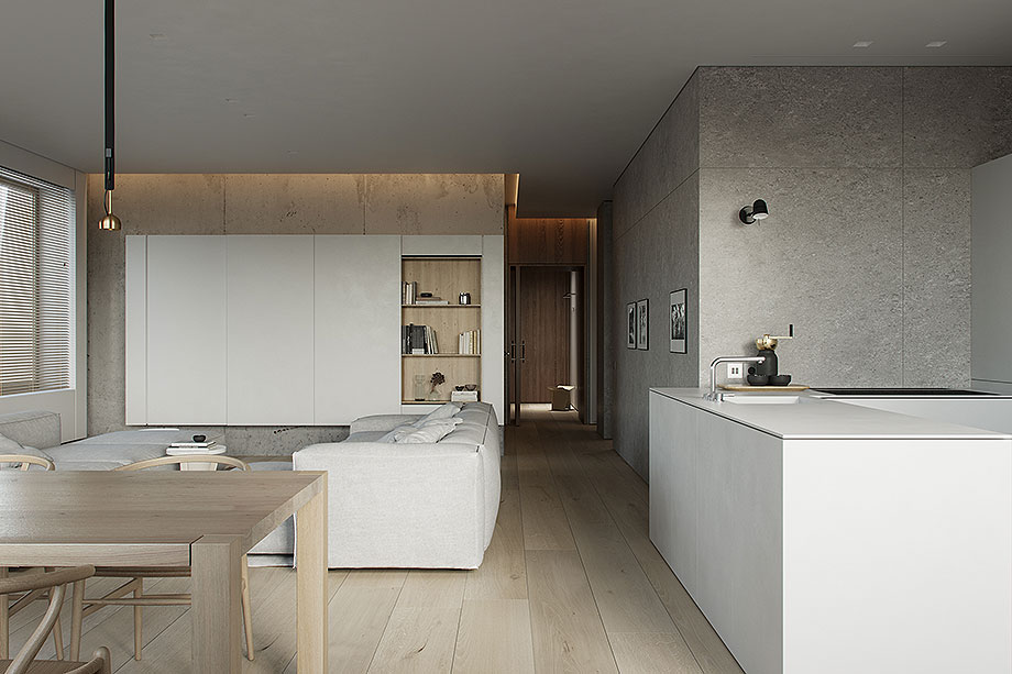 apartamento en moscu de kodd bureau (1) - foto daria koloskova