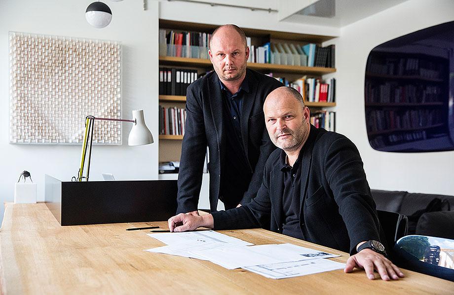 los arquitectos petr kolar y ales lapka de adr