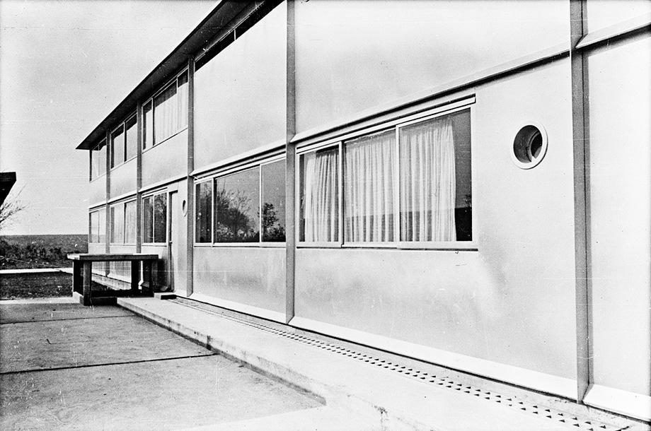 Jean-Prouvé,-Obras-aeroclub-Roland-Garros,-Buc-(Yvelines),-hacia-1935