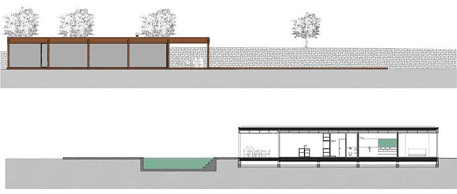 casa con cerramientos technal de stef rogiers design (10) - plano