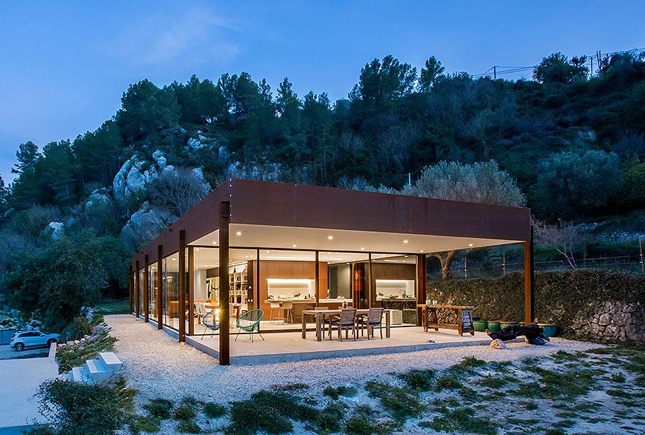 casa con cerramientos technal de stef rogiers design (7) - foto pasqual cabrera
