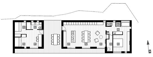 casa hireg de beres architects (16) - plano